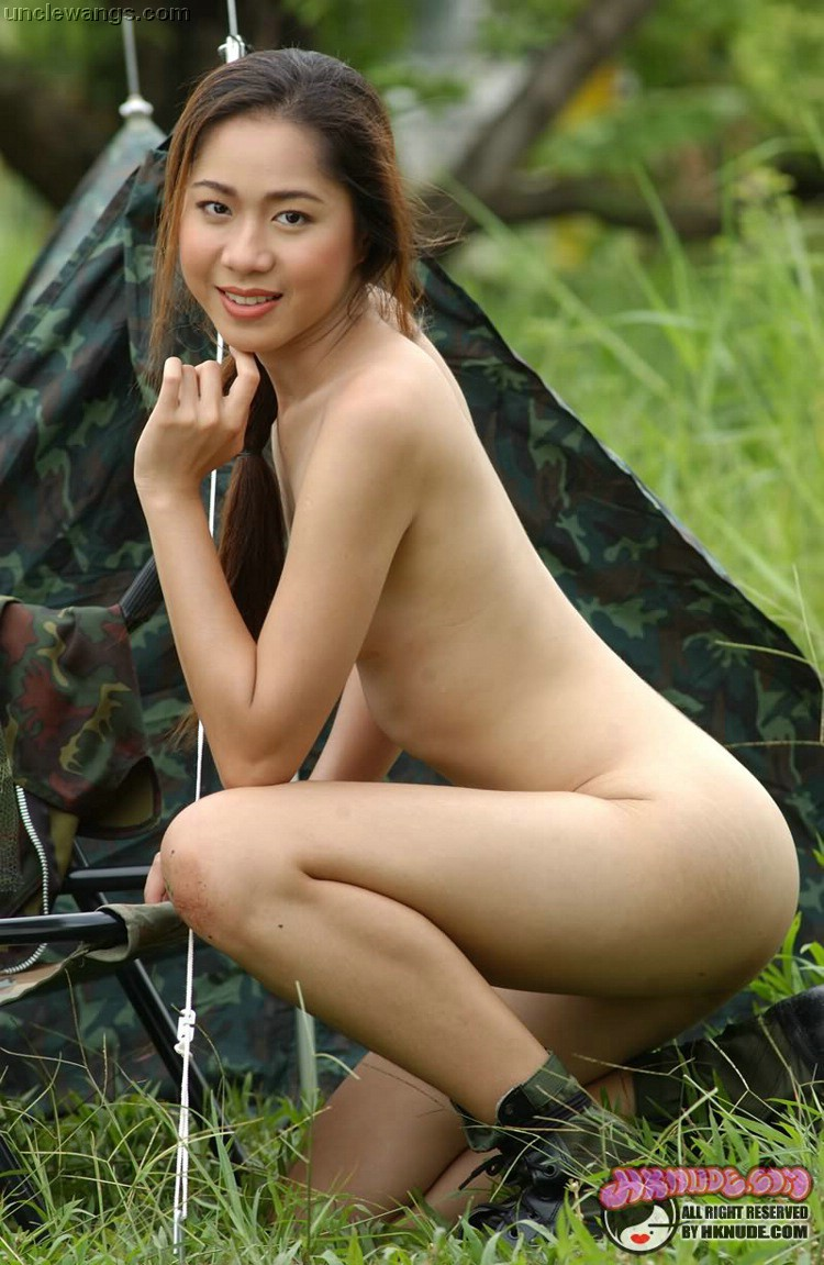 Asian military women nude